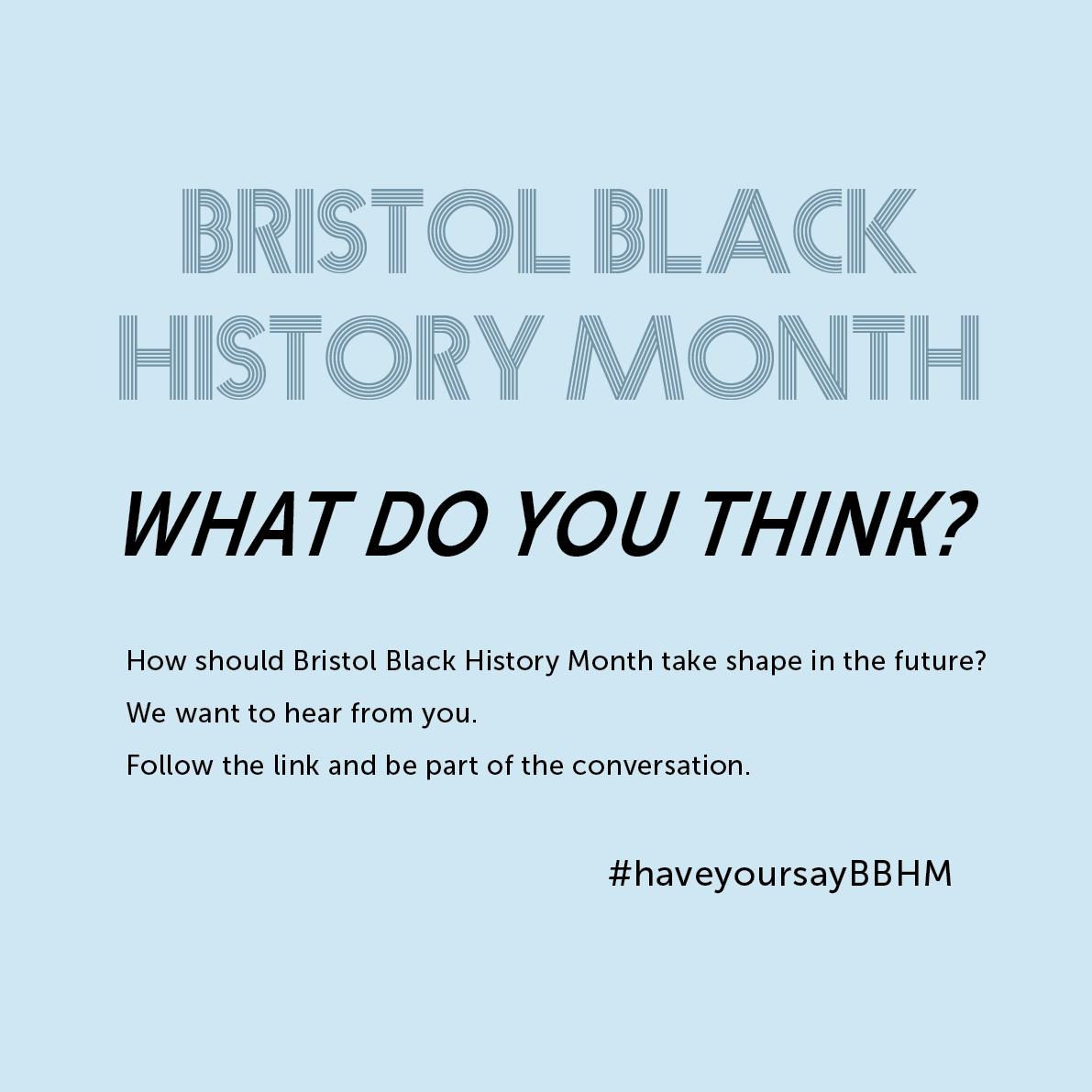 Bristol Black History Month new
